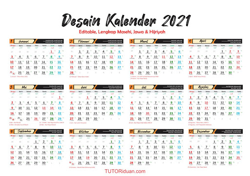 Master Kalender 2021