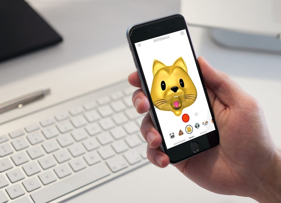 Iphone  Plus Have Animoji
