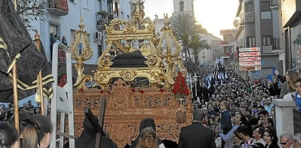 Retransmisión del Viernes Santo en la principales ciudades de Andalucía