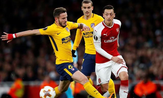 Video Cuplikan Gol Arsenal 1-1 Atletico Madrid | Leg 1 Semifinal Liga Europa
