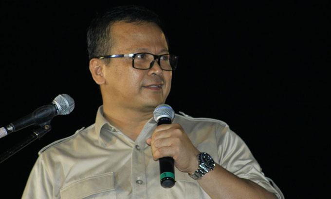 Edhy Prabowo Akui Prestasi Nurdin Halid