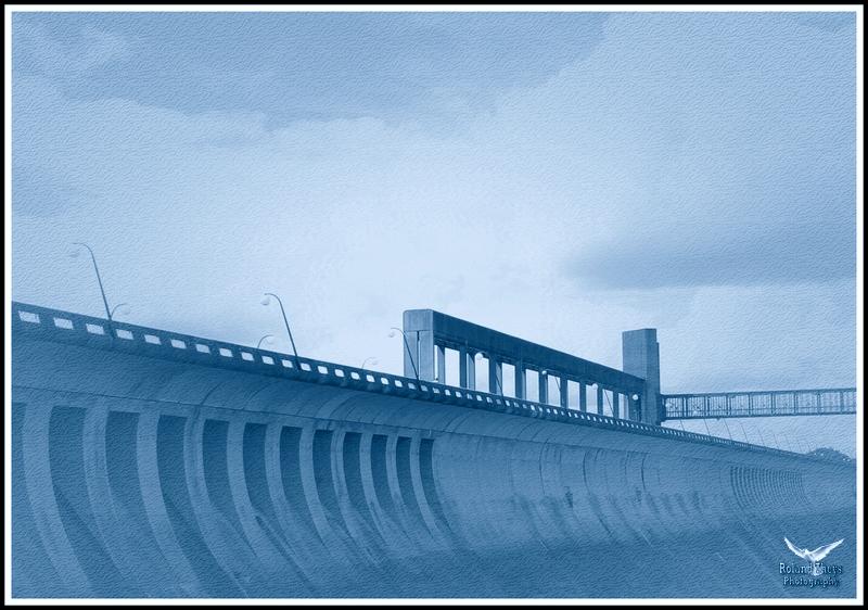 Le béton, barrage de L'Eau d'Heure