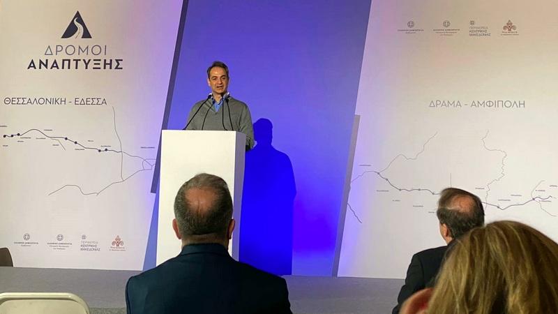 Εξασφαλίστηκε η χρηματοδότηση για την κατασκευή του δρόμου Δράμα - Αμφίπολη