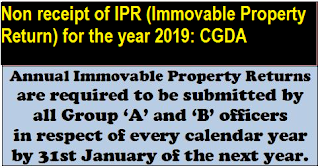 non-receipt-of-ipr-immovable-property-return-for-the-year-2019