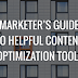 100% Free Content Marketers Optimization TOOLS