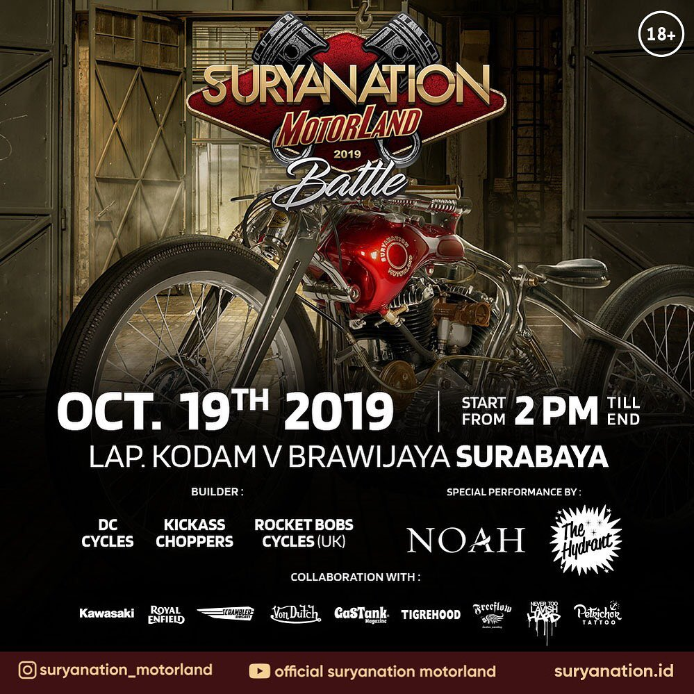 Suryanation Motorland 2019 Battle Surabaya