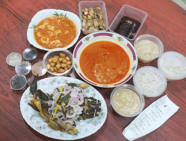 Takeaway dishes from Famous Treasure