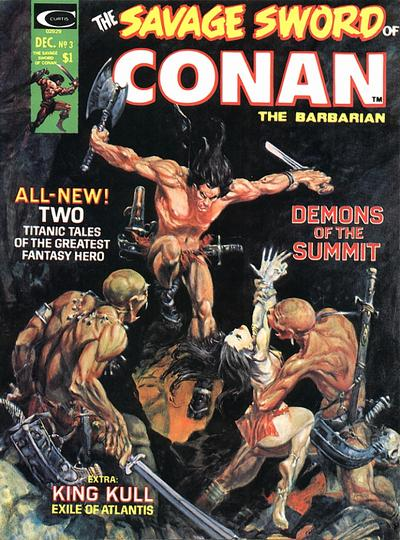 Marvel Comics, Savage Sword of Conan  #3