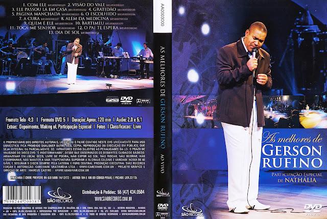 Capa DVD As Melhores de Gerson Rufino (Oficial)