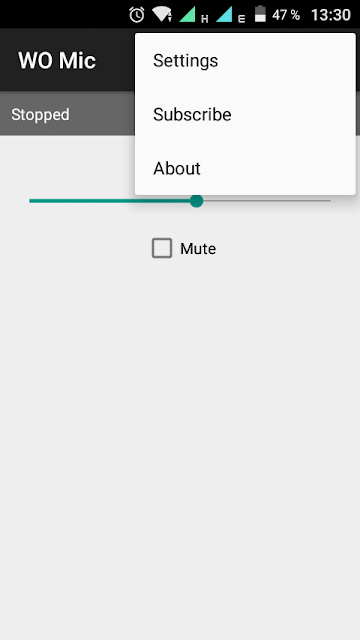 Use your Android smartphone as a computer Microphone with WO Mic