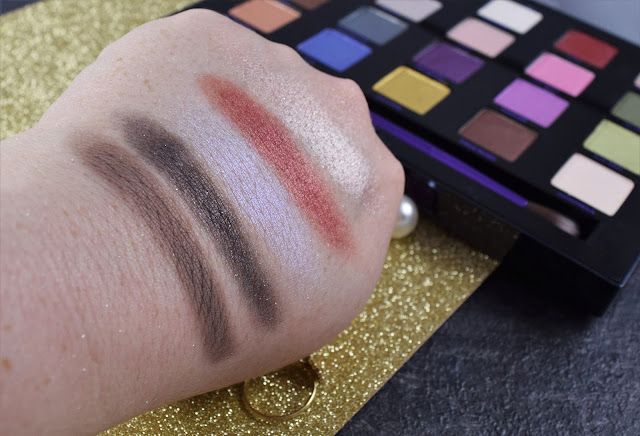 UD XX Vice Ltd Reloaded eyeshadow palette swatches