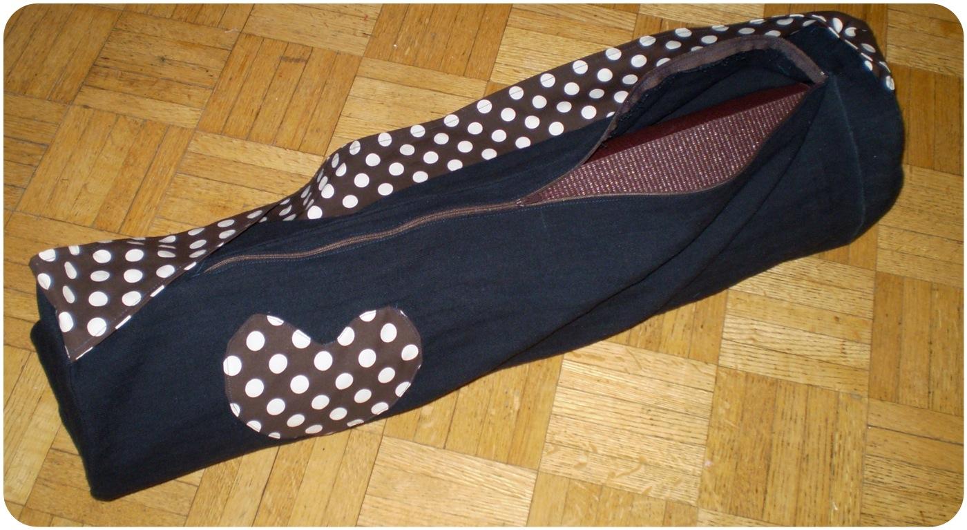 Diy Yoga Mat Bags Gettin Crafty With Natalie