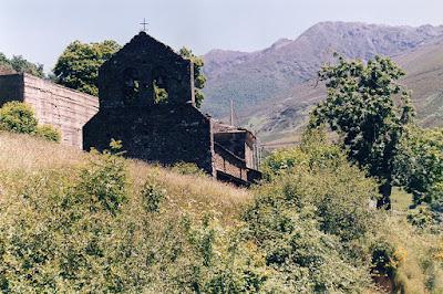 iglesia, San Jorge, Tormaleo, Ibias, Asturias