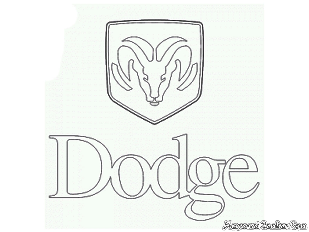 Dodge Cummins Logo Coloring Pages Coloring Pages
