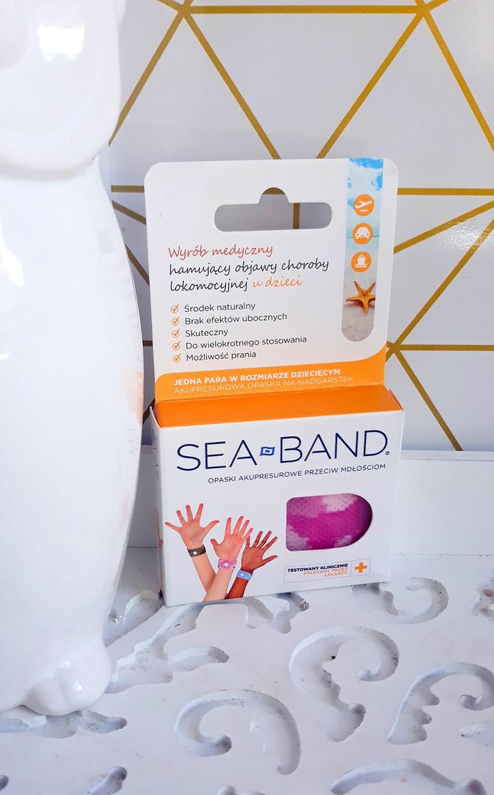 SEA-BAND opaski akupresurowe niwelujące mdłości
