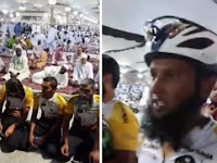 Subhanallah...Tunaikan Ibadah Haji, Delapan Muslim Bersepeda dari Inggris ke Tanah Suci