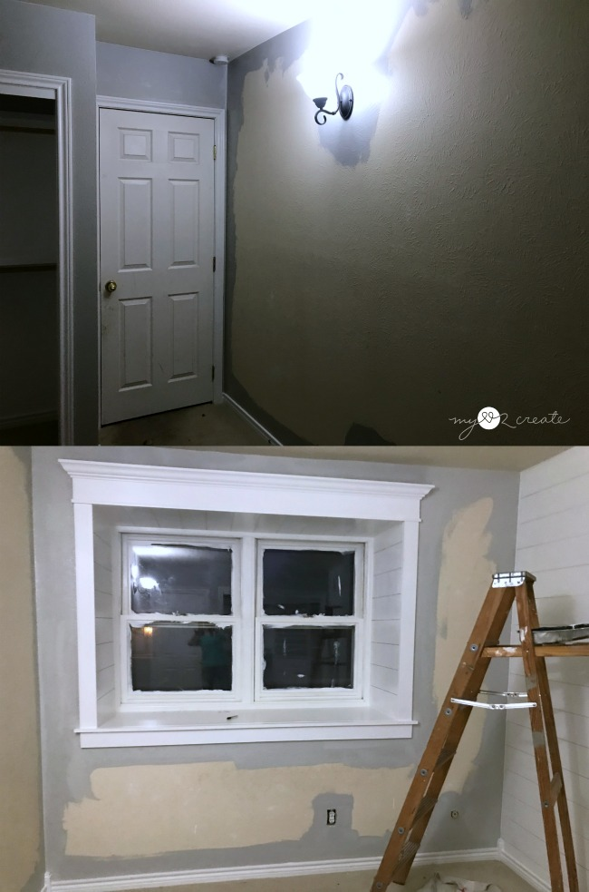 Painting room light french gray