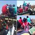 """No município de Riacho de Santana, Sertão do Alto Oeste Potiguar, alunos são transportados em carros """"paus de arara""""."""