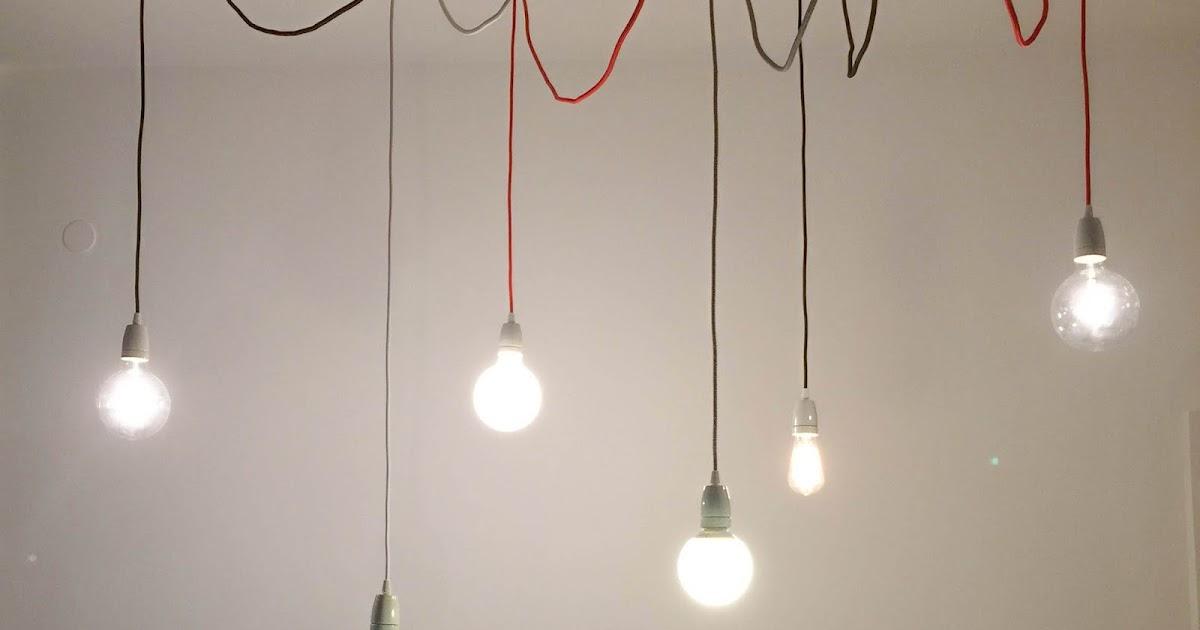 Lampade A Sospensione Filo Colorato: Lampade con cavi foto 16 26 nanopress donna. Elettrico ...