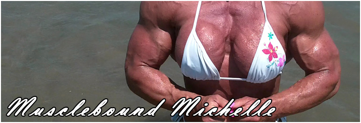 Phone Sex with Female Bodybuilder Musclebound Michelle