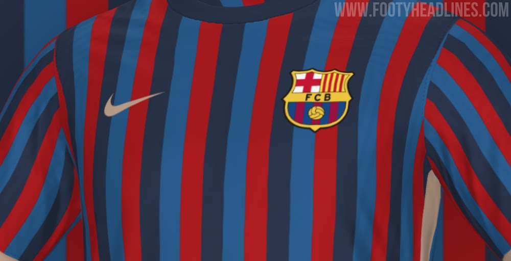 Exclusive: FC Barcelona 22-23 Home Kit Design Leaked - Footy Headlines