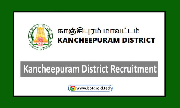 Kanchipuram District Recruitment 2020, Apply for Organizers, Cook Assistant Vacancies