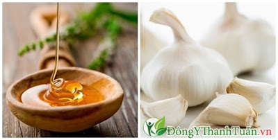 Mẹo chữa viêm mũi dị ứng bằng tỏi và mật ong