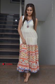 Telugu Actress Anu Emmanuel New Stills in Beautiful White Long Dress  0093.JPG