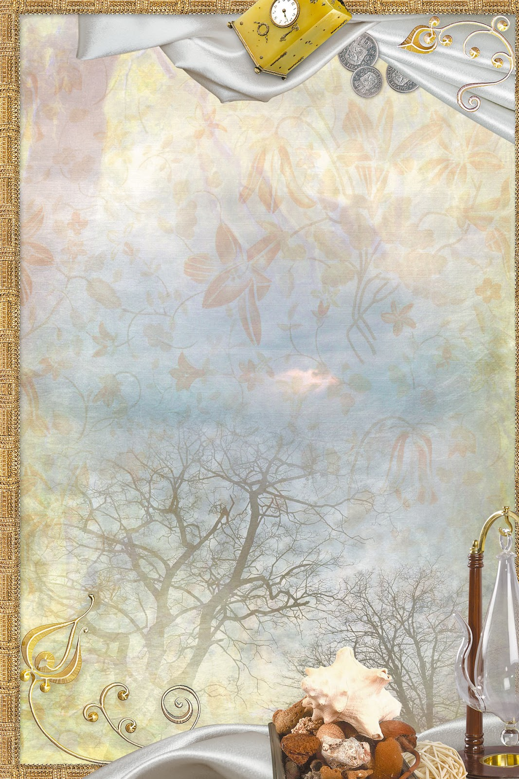 Шаблон для паблишера открытка