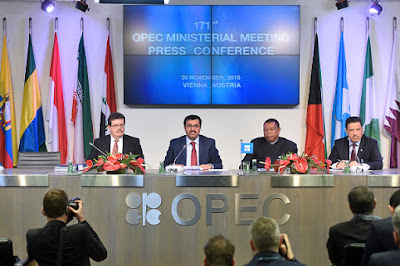 OPEC agrees to reduce production rate by 1.2m bpd, Exempts Nigeria & Libya
