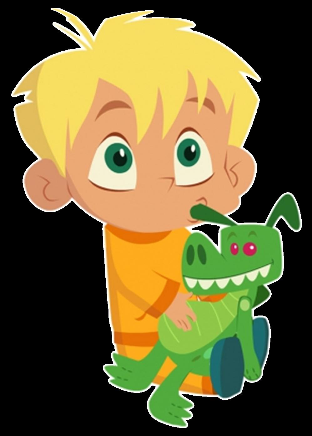 Cartoon Characters: Mr. Moon