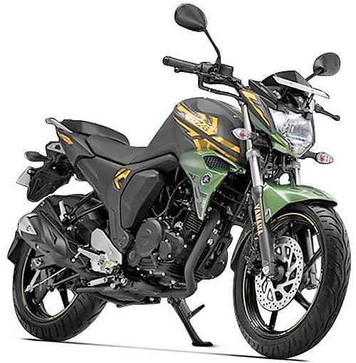 Yamaha FZS FI Matte Green