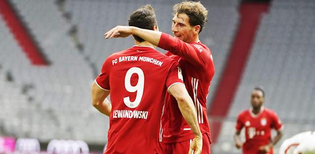 Bayern München vs Eintracht Frankfurt – Highlights