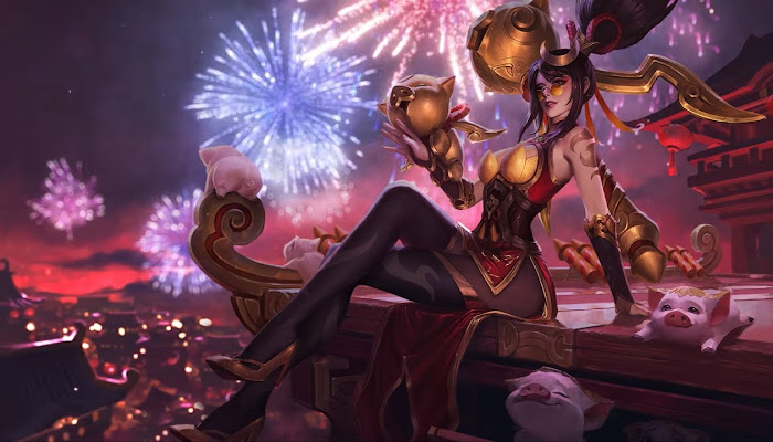 Login Screen | Lunar Revel 2019 - League of Legends | LoL