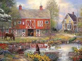 cuadros-escenas-paisajes-pueblos-y-campos pinturas-paisajes-cuadros-oleo
