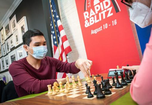 Wesley So, le nouveau leader du Grand Chess Tour 2021 - Photo © Grand Chess Tour