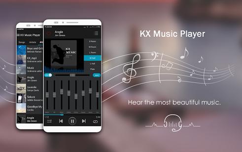 KX Music Player P.ro v1.8.5 Unlocked - Trình phát nhạc Android