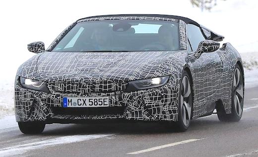 2019 BMW i8 Roadster Rumors