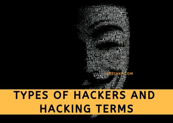 Types of hackers and hacking terms