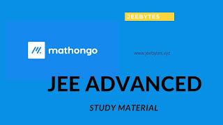 MathonGo JEE Advanced Study Material [Pdf]