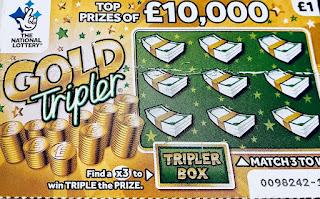 £1 Gold Tripler