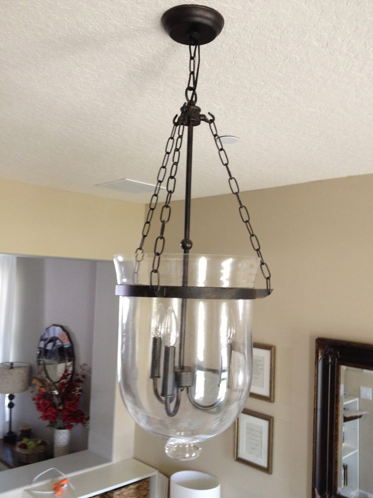 Pottery Barn Chandelier Knock f
