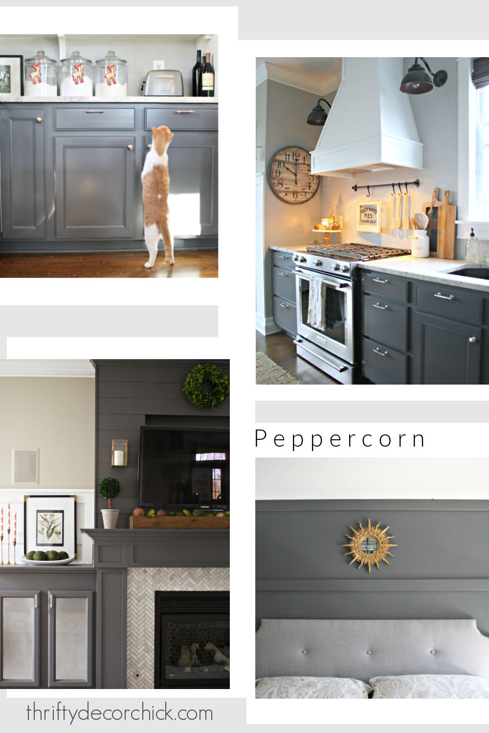 Peppercorn paint color Sherwin Williams