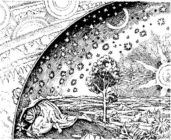 o-ceu-medieval-com-o-homem-chegando-no-lugar-onde-o-ceu-e-a-terra-se-encontravam