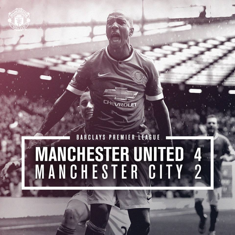 Manchester United vs City 4-2 All Goals & Highlights Video