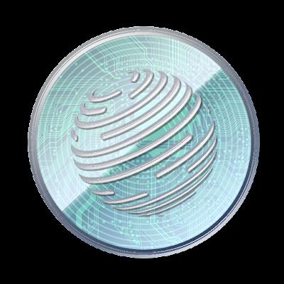 仮想通貨ファクトムのフリー素材(アルミver)