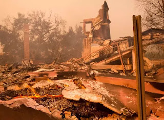 Californians Hit By Wildfire Brace For Heavy Rain And Mud