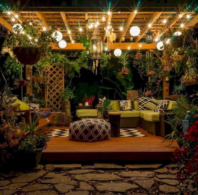 Popular Backyard Lighting Ideas Makes It Look Beautiful