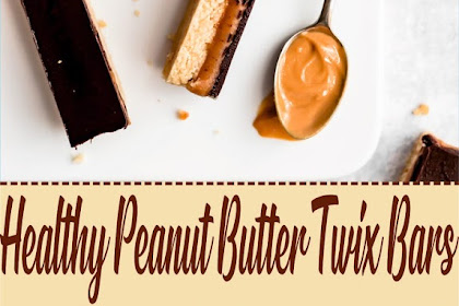 Healthy Peanut Butter Twix Bars