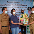 Perusahaan Borong Parcel Produk Lokal, Wakil Bupati: Yang Penting Pelaku UMKM Bisa Tersenyum